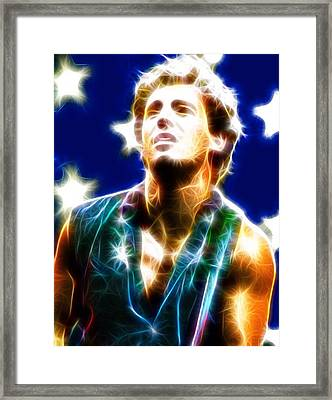 Magical Boss Framed Print by Paul Van Scott