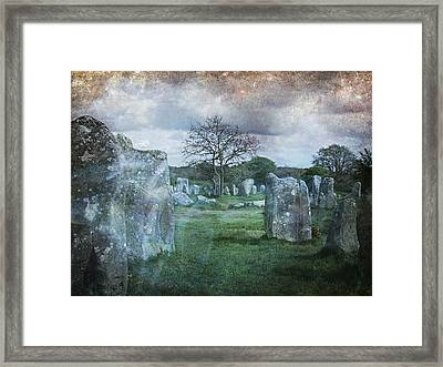 Magical Brittany Framed Print by Barbara Orenya