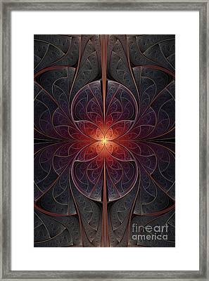 Magical Butterfly Framed Print by Jaclyn Hughes Fine Art
