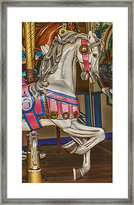 Magical Carrsoul Horse Framed Print by Garry Gay