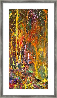 Magical Forest Framed Print by Michelle Dommer