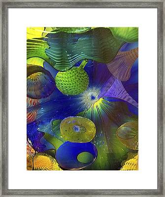Magical Glass 2 Framed Print by Elvira Butler