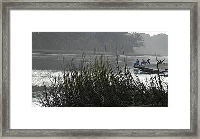 Magical Inlet Framed Print by Patricia Greer