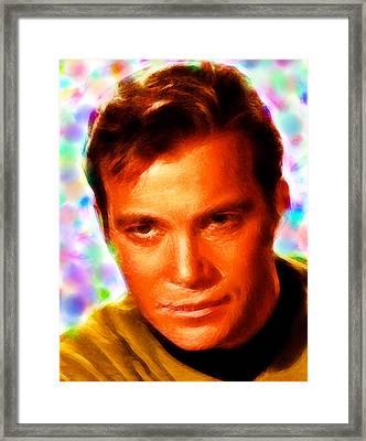 Magical Kirk Framed Print by Paul Van Scott