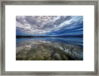 Magical Lake Framed Print