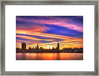 Magical London Framed Print
