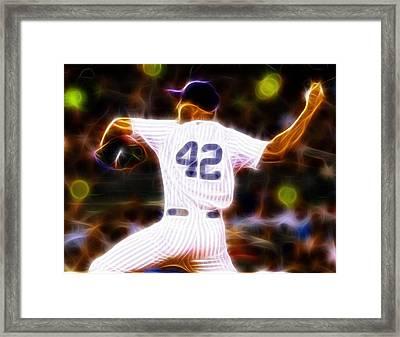 Magical Mariano Rivera Framed Print by Paul Van Scott