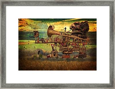 Magical Mystery Tour Framed Print