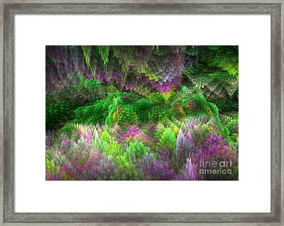 Magical Mystery Woods Framed Print