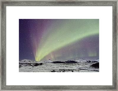 Magical Night Framed Print by Evelina Kremsdorf