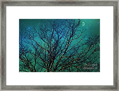 Magical Night Framed Print by Sylvia Cook