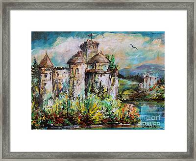 Magical Palace Framed Print