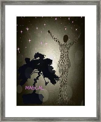 Magical Framed Print by Romaine Head