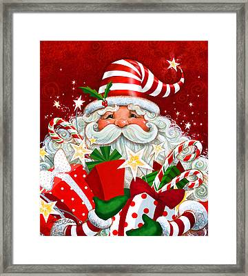 Magical Santa Framed Print