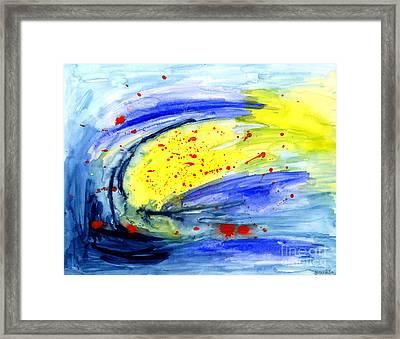 Magical Sky  Framed Print