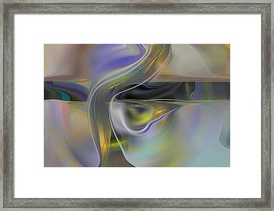 Magical Space And Time Framed Print