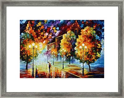 Magical Time Framed Print by Leonid Afremov