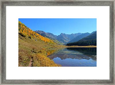 Magical View Framed Print by Fiona Kennard