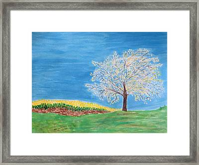 Magical Wish Tree Framed Print