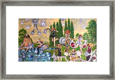 Magical World Framed Print by Lisa Piper