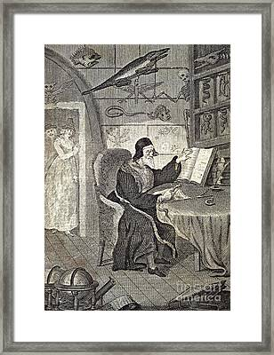 Magician, 18th Century Artwork Framed Print by British Library