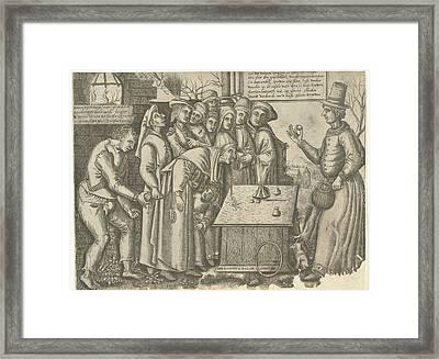Magician, Balthazar Van Den Bos Framed Print by Balthazar Van Den Bos