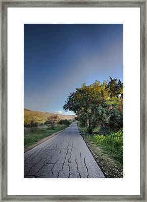 Magician Path Framed Print