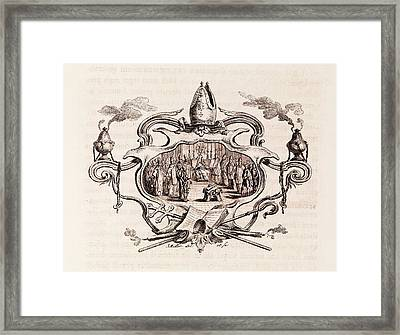 Magna Carta Excommunication Framed Print by Middle Temple Library