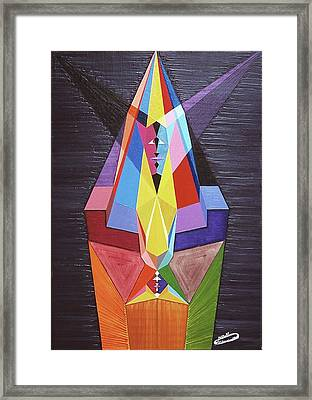 Magnanimite-magnanimity Framed Print by Michael Bellon