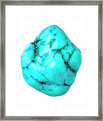 Magnesite Framed Print by Natural History Museum, London