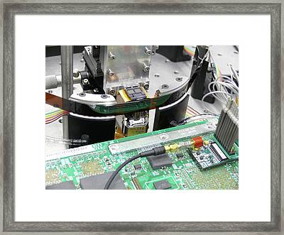 Magnetic Tape Storage Framed Print
