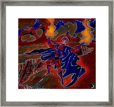Magneto  Framed Print by Jazzboy