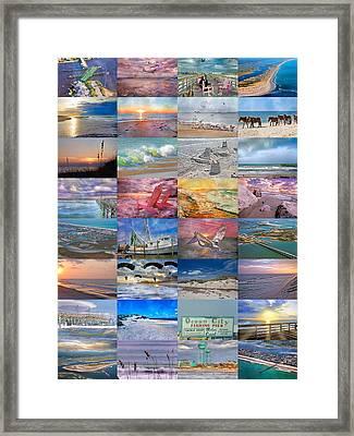Magnificent Coastal North Carolina Framed Print by Betsy Knapp