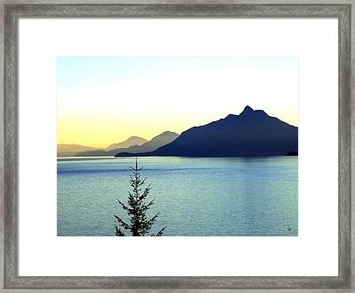Magnificent Howe Sound Framed Print by Will Borden