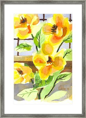 Magnificent Magnolias  Framed Print by Kip DeVore