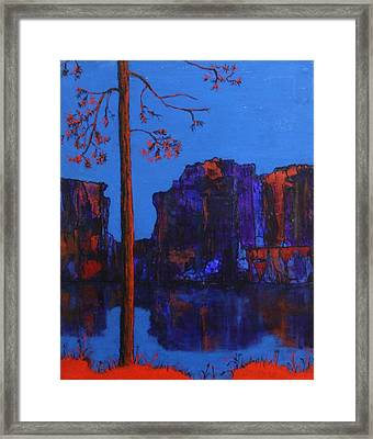 Magnificent North Framed Print