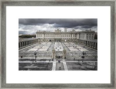 Magnificent Palace View Framed Print by Joan Carroll