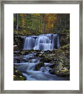 Magnificent Waterfall Framed Print