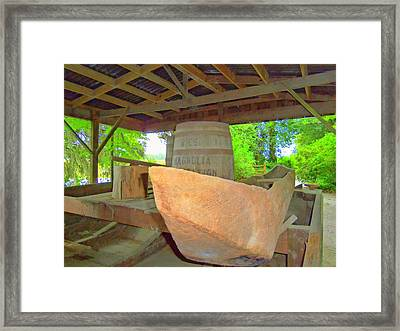 Magnolia Brew 1 Framed Print by Ron Kandt