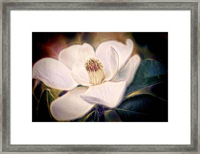 Framed Print featuring the photograph Magnolia Dream by Joetta West