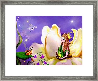 Magnolia Fairy Princess Framed Print