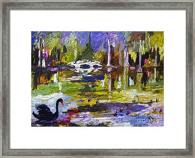 Magnolia Gardens Charleston South Carolina Modern Art Framed Print