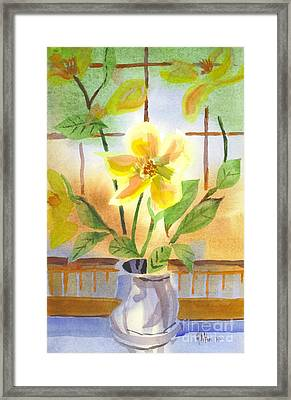 Magnolia Framed Print by Kip DeVore