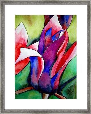 Magnolia Framed Print by Sacha Grossel