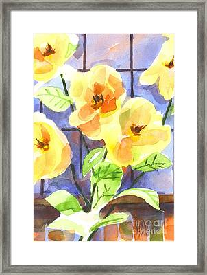 Magnolias Framed Print by Kip DeVore