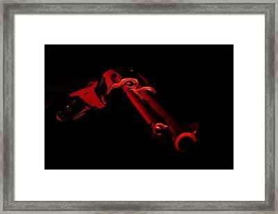 Magnum Red Framed Print by David Andersen