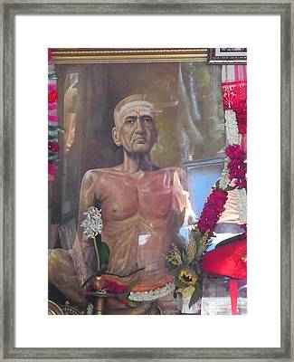 Maha Samadhi Day Framed Print
