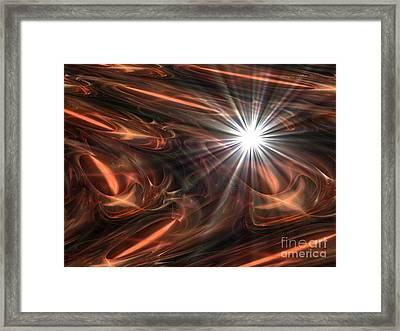 Mahogany Framed Print