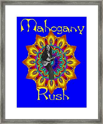 Mahogany Rush Art 1 Framed Print