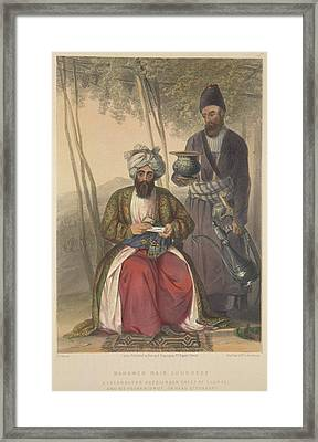 Mahomed Naib Surreef Framed Print by British Library